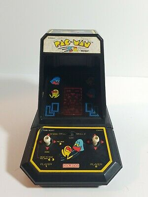 Vintage 1981 Coleco PAC-MAN Midway Mini Arcade Game -  Battery Operated - Nice!