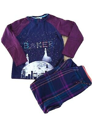Baker by Ted Baker Boys Pyjamas Age 8-10 in excellent condition