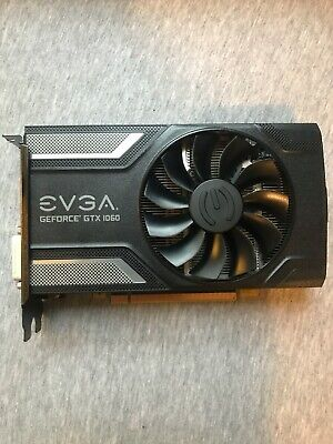 EVGA NVIDIA Geforce GTX 1060 Graphics Card SC Super Clocked Excellent Condition