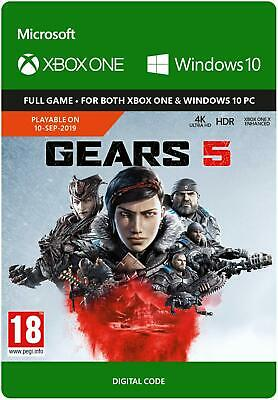 Gears 5 (Xbox One) - Digital Download - FAST DELIVERY