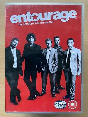 Entourage Stagione 4 Box DVD Set HBO Hollywood Industria Commedia Serie