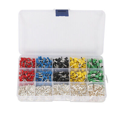 1640Pcs Copper Silver Plated Terminal Combination Set Cold Pressed Terminals MD