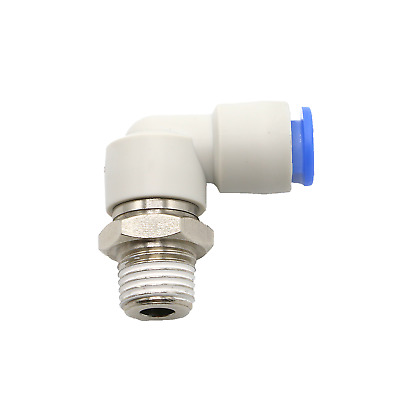 H● SMC KSL10-02S Union Elbow Rotary One-touch Fitting New.