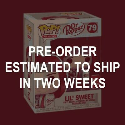 Funko Pop Lil' Sweet Ad Icons #79 Dr Pepper Exclusive PRE-ORDER
