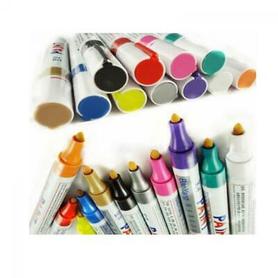 Paint Marker Pen Tire Rubber Metal Glass Wood Stone Waterproof Oil Pen CBUS cool