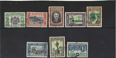 Southern Rhodesia 1940 - British South Africa Company Golden Jubilee Set Used