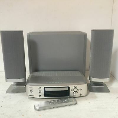 Denon S-101 Hi-Fi Stereo System - Amplifier, Speakers, Subwoofer + Remote
