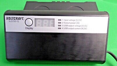 Conrad VOLTCRAFT  power inverter Wechselrichter SLS-150-12  150W