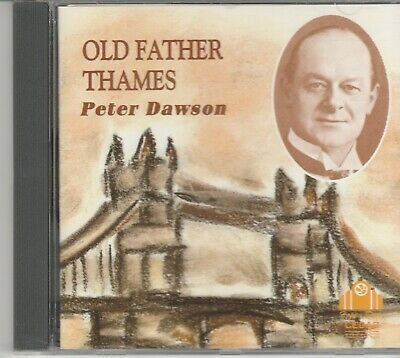 Peter Dawson-24 Track CD Album-Old Father Thames