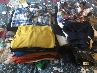32 Item Bundle Boys Clothes Next Gap M&s Boden Primark Benetton H&m 12-13