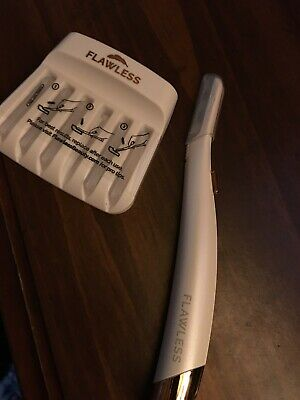 Finishing Touch Flawless Dermaplane Glo Lighted Facial Exfoliator & Hair Remover