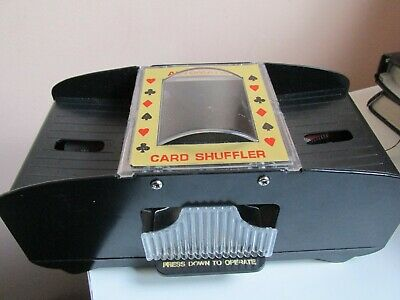 Automatic Playing Cards Shuffler Poker Casino One/Two Deck Card Shuffle Sorter X