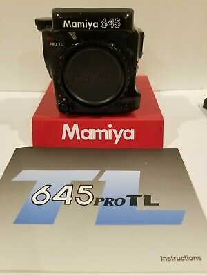 Mamiya 645 PRO TL BODY NEW EXTERIOR REPLACEMENT COVERS)