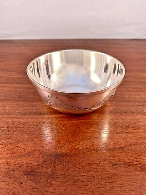 Bailey Banks & Biddle Sterling Silver Child's Or Regular Bowl: No Monogram
