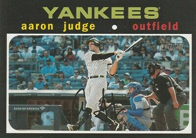New York Yankees 2020-19-18 Topps Heritage ****Free Shipping****You Pick****