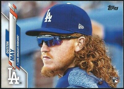 "2020 Topps Series 1 DUSTIN MAY SP ""PHOTO IMAGE VARIATION"" RC Rookie Card #235"