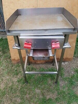 Commercial lpg grill