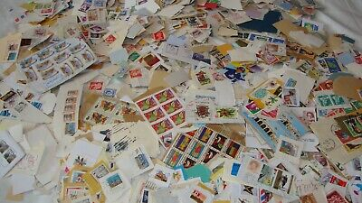 One Pound 7 ounces Worldwide Postage Stamps on paper. (Thousands)
