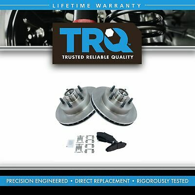 Nakamoto Front Posi Metallic Brake Pad /& Rotor Kit for 95-97 Ford Ranger Mazda