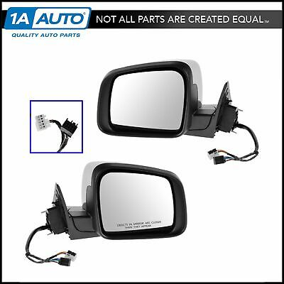 Mirror Power Heated Signal Memory Smooth Black Right RH for 11-13 Grand Cherokee