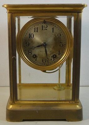 Vintage Seth Thomas Brass Regulator Clock 120B Mechanism