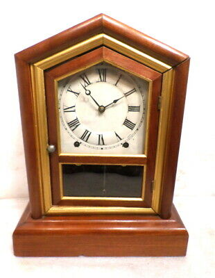 Stunning Seth Thomas Transitional 'City Series' Shelf Clock--Plymouth, Conn