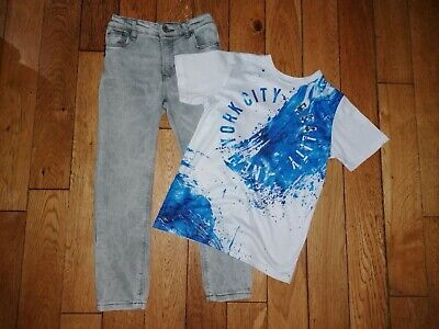 *River Island* Gorgeous Boys Top T-Shirt & Skinny Jeans Outfit Bundle Summer