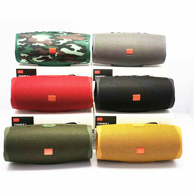 New Charge 4+ Edition Portable Waterproof Camo Bluetooth Speaker Unbranded