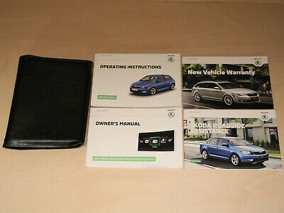 Skoda Fabia Owner's Handbook 2010-14 - Manual, Wallet, Guide, Pack [2015]