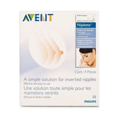Philips Avent Niplette Twin Pack With 2 x Disposable Breast Pads Simple Discreet