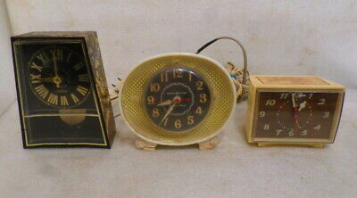 Group of 3 Vintage Electric Clocks
