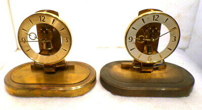 2 Vintage German Electro  Magnetic Clocks--Kieninger & Obergfell