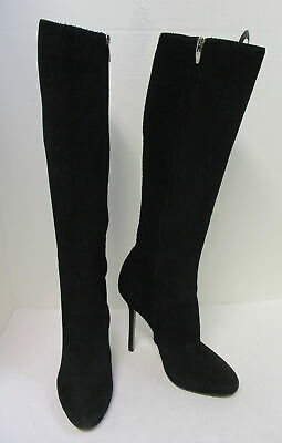 9 $1,295 SERGIO ROSSI TALL BOOTS /'BARBIE/' KNEE HIGH BEIGE LEATHER sz 39