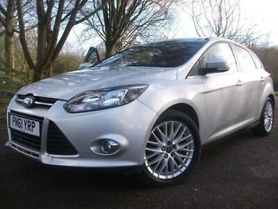 2011 61 Ford Focus 1.6 Zetec 5D 124 Bhp+F/S/H+Free Warranty+1 Owner
