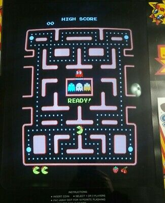 Ms Pac-Man Original Arcade PCB Board, Fully Tested and Working, Original Speed