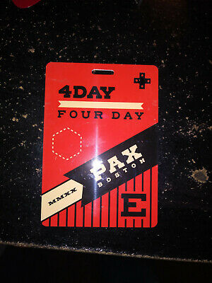 4-Day Pass Pax East Boston Tickets 2020