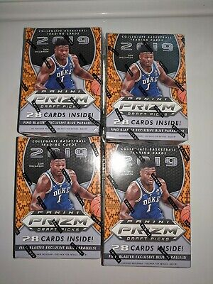 2019-20 (4)Panini Prizm NBA Draft Picks Collegiate Basketball Card Blaster Boxes