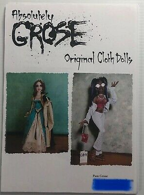 Absolutely Grose Original Cloth Dolls Trendy Chick Elizabethan Pam Grose