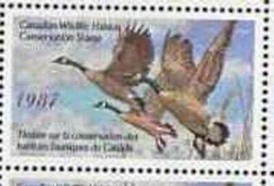 Canada Wholesale 1985 86 & 87 Ducks Booklets Mint Fv $ 575 Wildlife 11815-A3