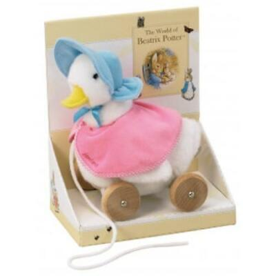 NEW Beatrix Potter Pull Along Soft Jemima Puddle Duck - Baby Toddler Toy