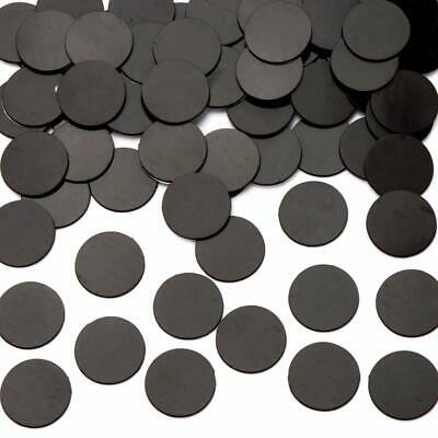 Self Adhesive Stick On Dot Magnetic Rubber Round Magnet Disc Flexible Crafts