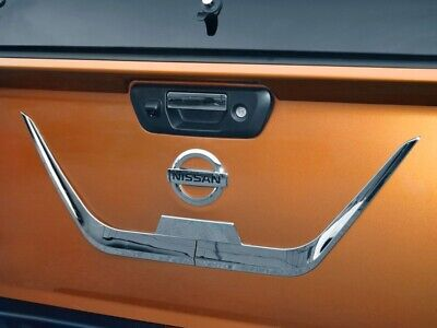 Chrome Trim Tailgate Styling  to Fit Nissan Navara NP300 2015 onwards