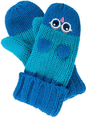 Regatta Animally Kids Winter Mitts Cute Animal Design Fleece Lined Mittens 1-6