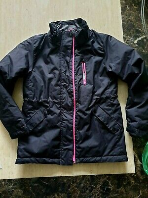 girls H&M sports jacket coat showerproof padded age 12-13  years