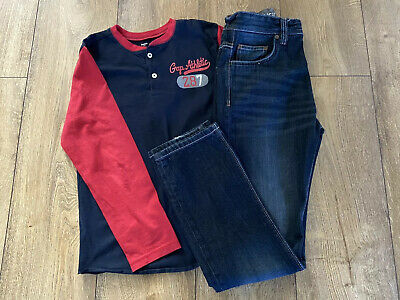 Boys Next Jeans & Gap T-Shirt Age 13 Years
