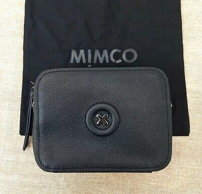 MIMCO DAYDREAM HIP BAG, BLACK GUNMETAL, New With Tags & Dustbag, Auth, Crossbody