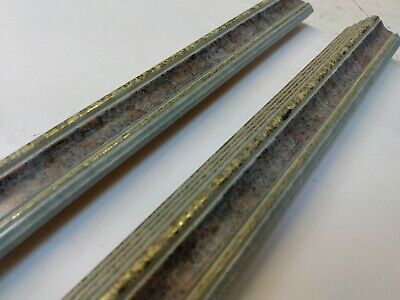 1.5 m bundle (2 x 77 cm) 30mm Blue/Purple Marble Wooden Picture Frame Moulding