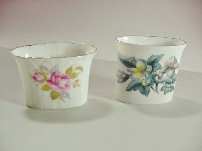 2 Toothpick Holders:royal Worcester & Aynsley, England, Fine Bone China