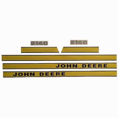 JD2140E New Hood Decal Set Made For John Deere Tractor 2140 Early Model