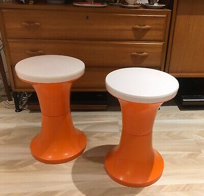 Pair Of Vintage Tam Tam Stools by Judge of England